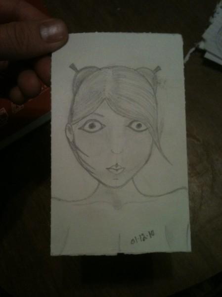 Girl Sketch 3