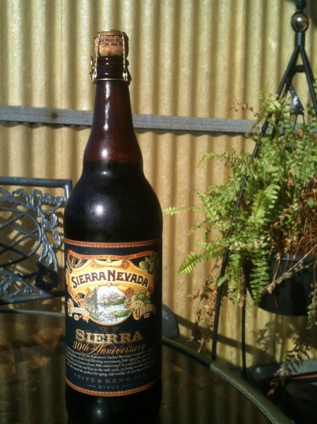 Sierra Nevada 30th Anniversary Stout